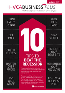 HVCA Business Plus10 Tips Cover