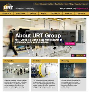 URT web